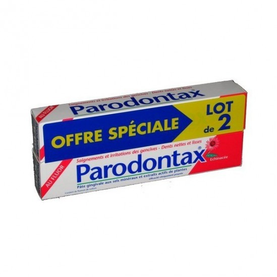 Parodontax dentifrice au fluor duo 75ml