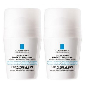 La Roche Posay physiologique Déodorant Duo Roll-on 2 x 50ml