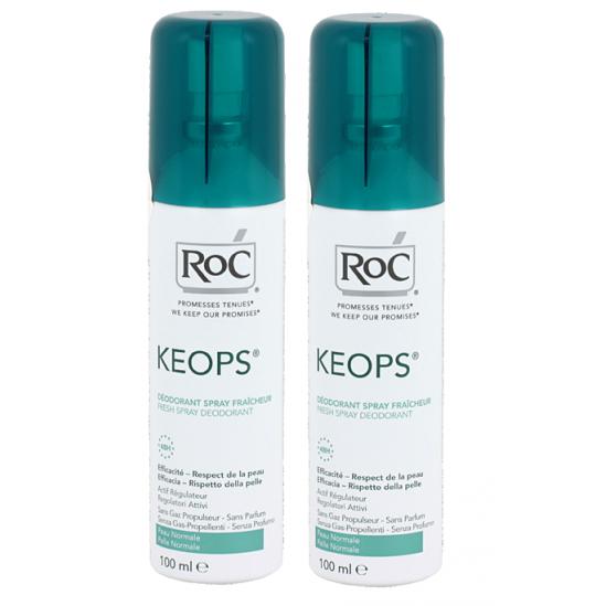 Roc Keops déodorant fraîcheur 100ml x2