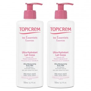 Topicrem Ultra-Hydratant lait Corps DUO 500ML