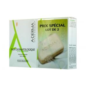 A-DERMA PAIN dermatologique au lait d'avoine rhealba DUO 100G