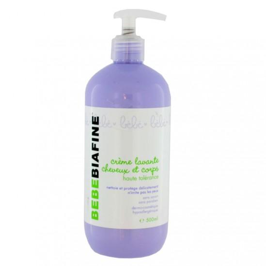 BébéBiafine crème lavante cheveux et corps 500ml