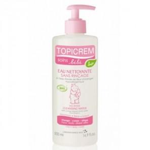 Topicrème soin bébé eau nettoyante bio 500ml