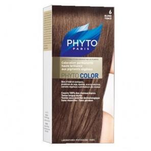 Phytocolor couleur soin 6 blond foncé kit