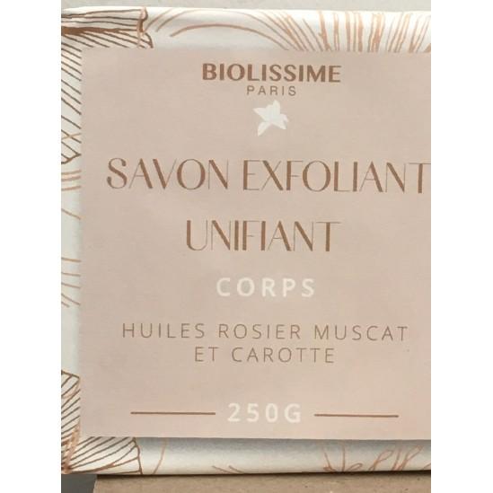 BIOLISSIME savon exfoliant unifiant corps 250 g